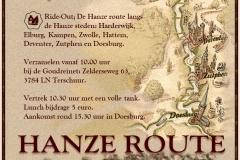 Flyer-Hanze-Route